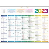 Lyreco france plannings calendriers - Grand calendrier mural ...
