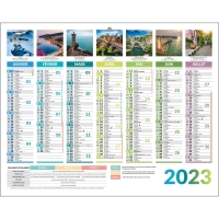 Lyreco france plannings calendriers for Grand calendrier mural 2017