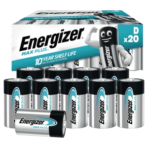 Energizer Advanced alkaliparisto D/LR20, 1kpl=20 paristoa