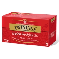 Twinings english breakfast tee, myyntierä 1 kpl = 25 pussia
