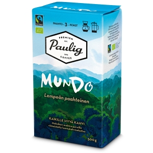 PAULIG MUNDO GROUND COFFEE 500G